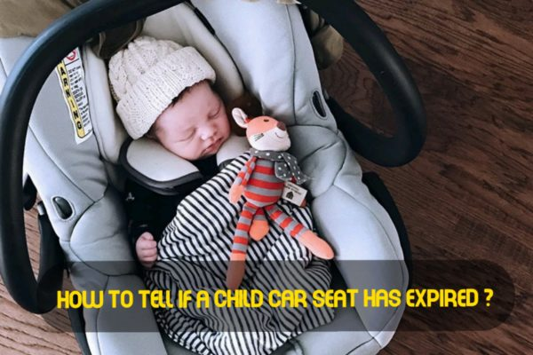 How to tell if a child car seat has expired ?