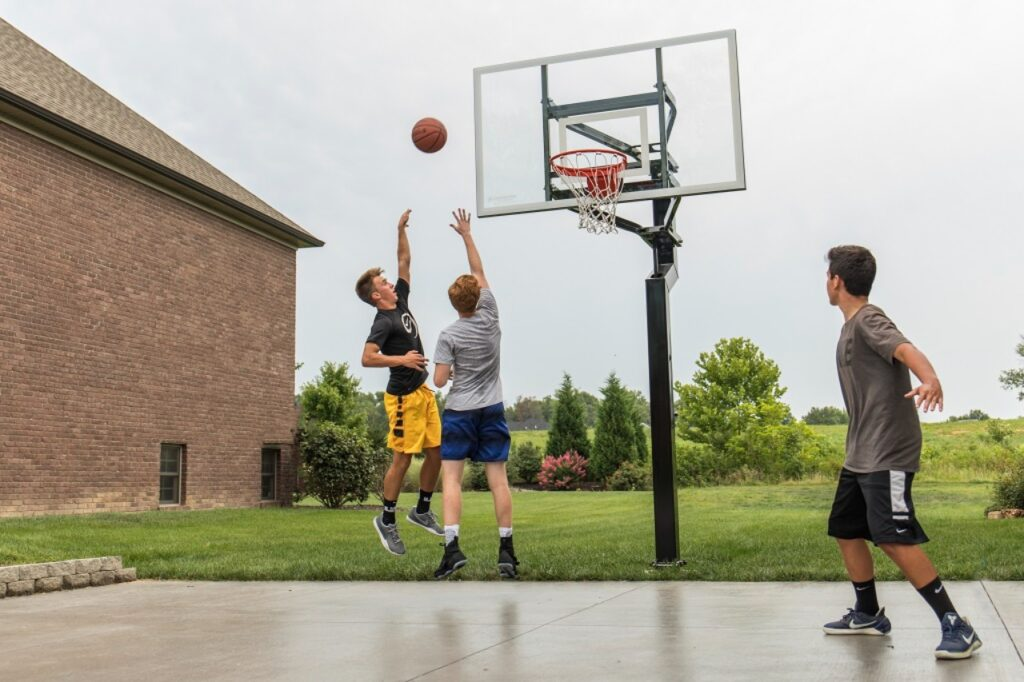 How To Install The In-Ground Basketball Hoops
